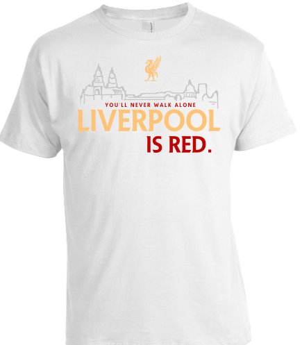 Liverpool is RED - white LADY