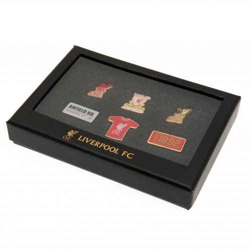 LFC 6 Piece Badge Set