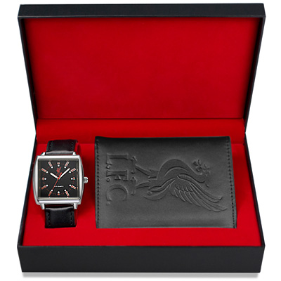 Liverpool FC watch-wallet set