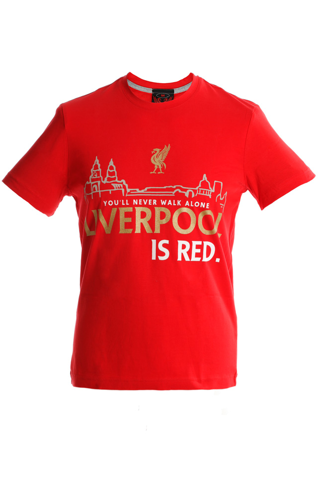 Liverpool is RED - red