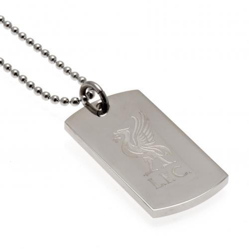 LFC Engraved Dog Tag&Chain