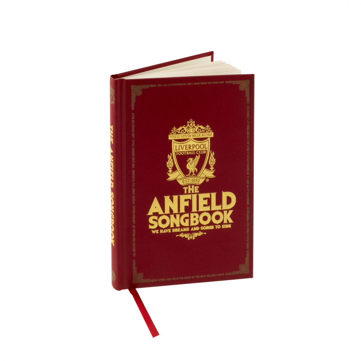 LFC ANFIELD SONG BOOK