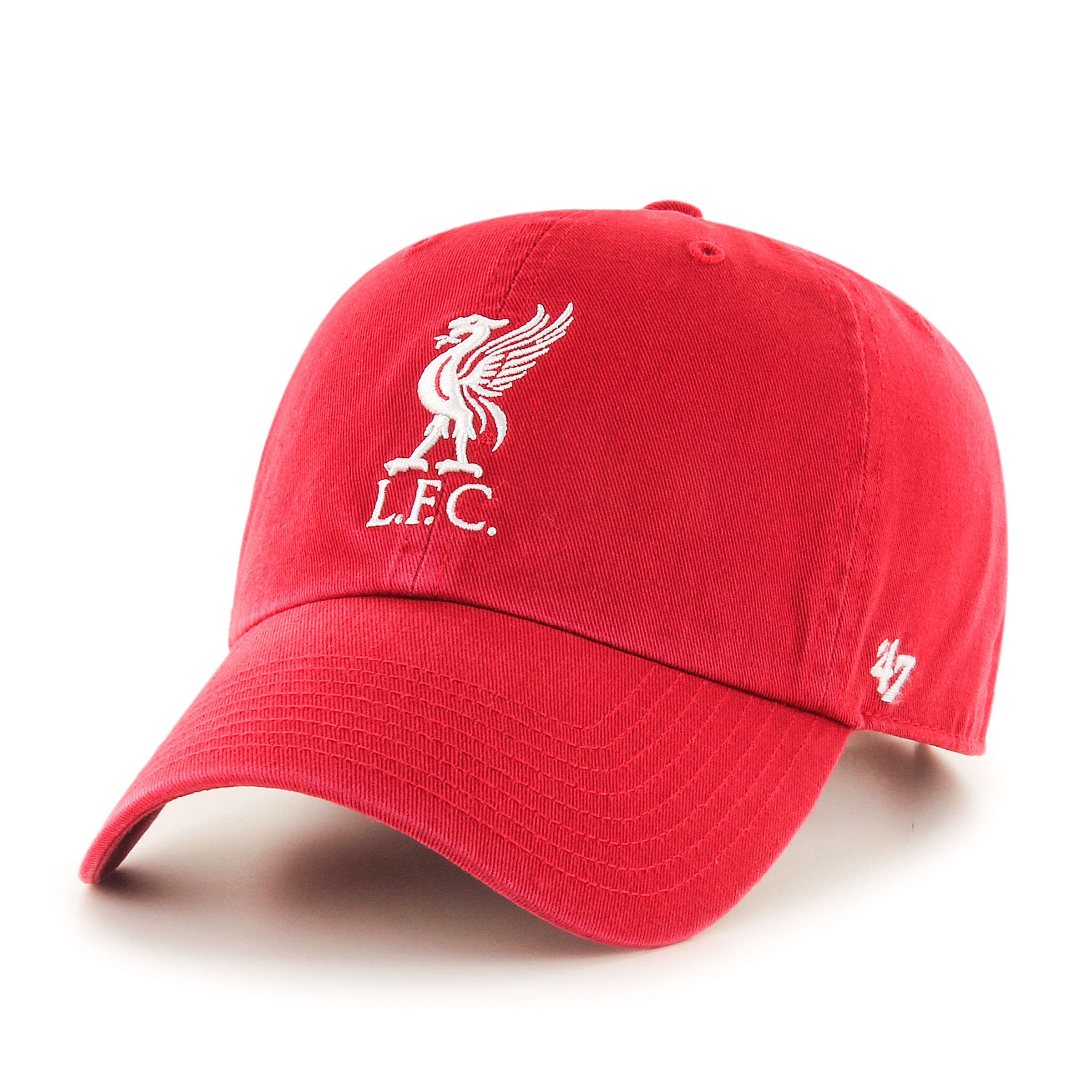LFC 47 Brand Cap Red Liverbird