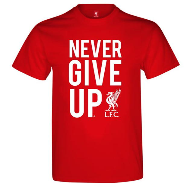 LFC Never Give Up Tee