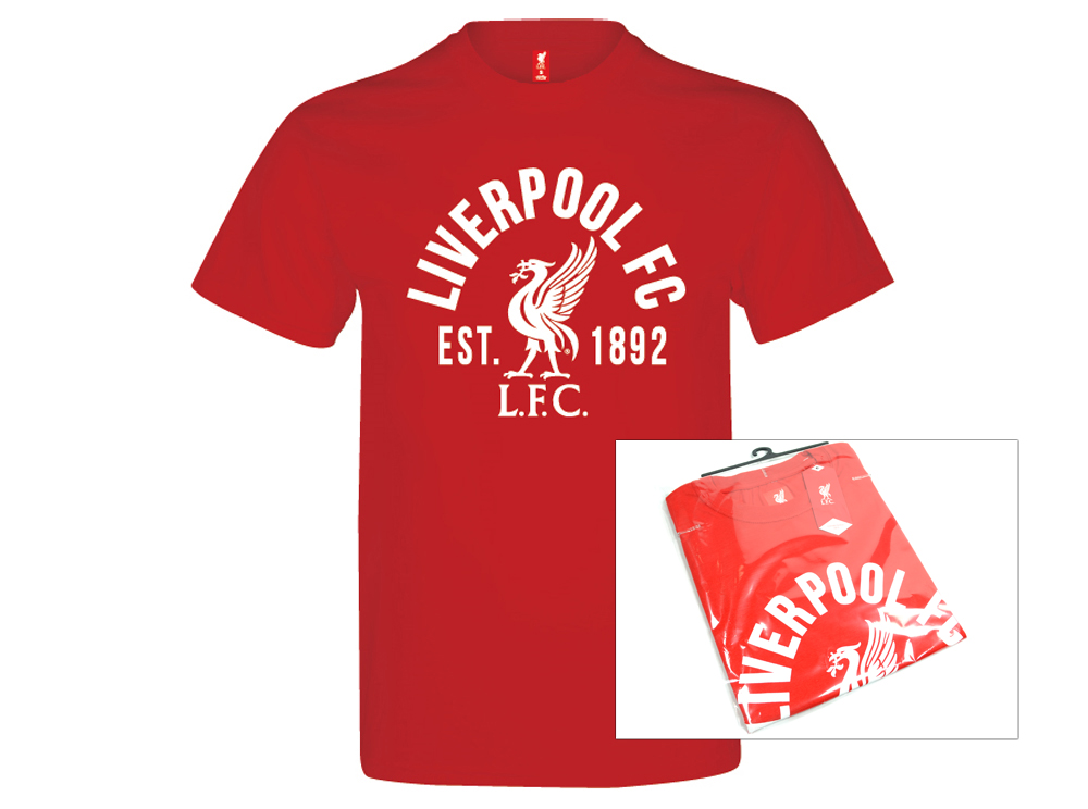 LFC Tee Est 1892 red
