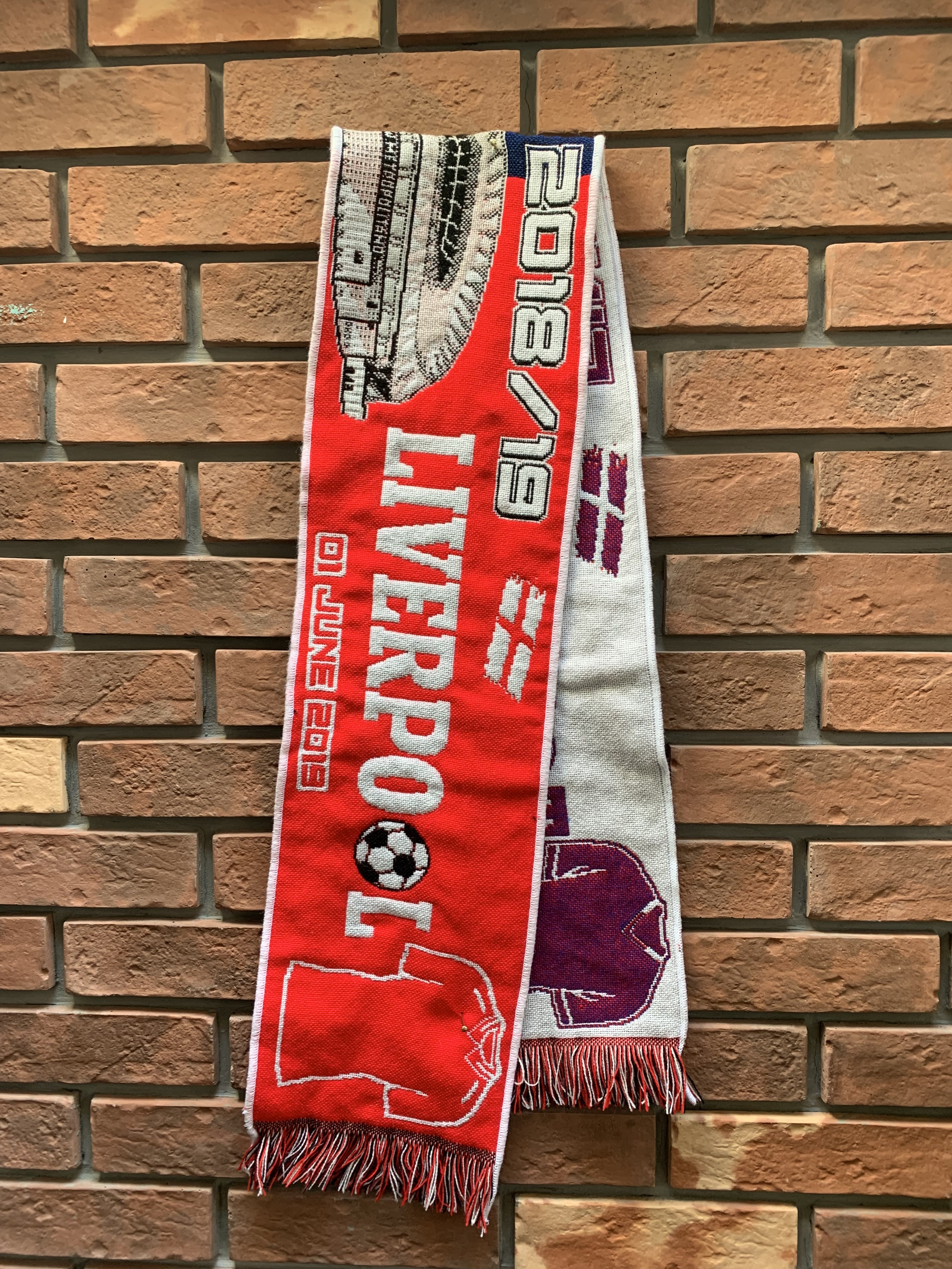 CHL 2019 Final match scarf