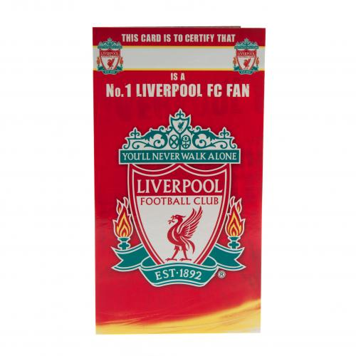 LFC Birthday Card No 1 Fan