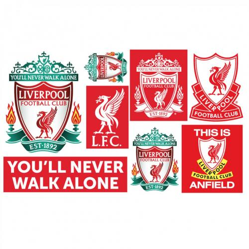 Liverpool F.C. Wall Art Crest